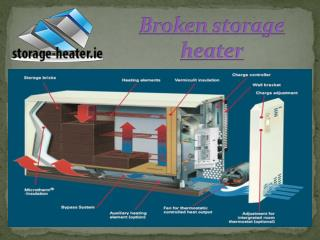 Storage heater replacement