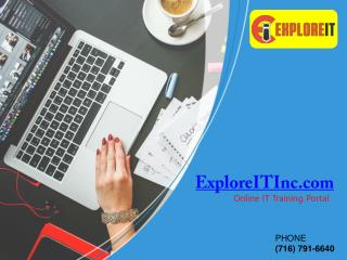 Online Training - ExploreITInc