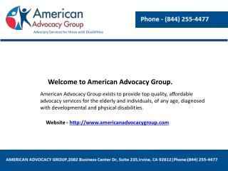 Disability advocates
