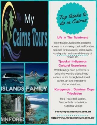 Adventure Tours Cairns