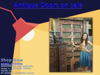 Antique Doors on sale