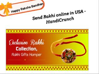 send rakhi online to USA