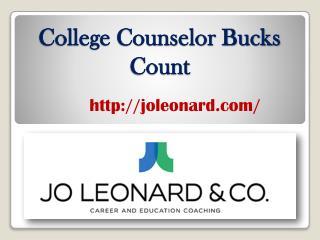 College Counselor Bucks Count - joleonard.com