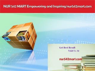 NUR 542 MART Empowering and Inspiring/nur542mart.com