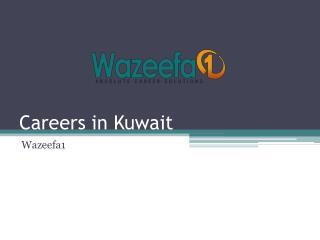 Careers in Kuwait - Wazeefa1