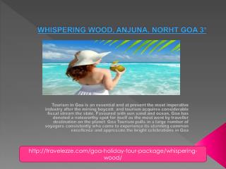 WHISPERING WOOD, ANJUNA, NORHT GOA 3*
