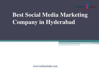 Techno Tasks | Social Media Marketing Company in Hyderabad