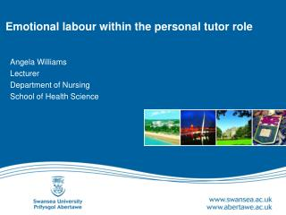 Emotional labour within the personal tutor role