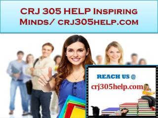 CRJ 305 HELP Real Success / crj305help.com
