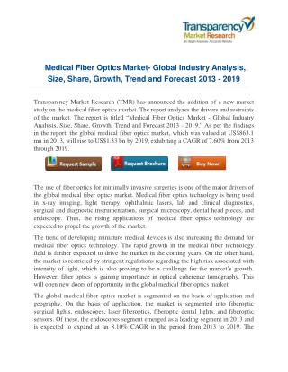 Medical Fiber Optics Market: A New Dimension of Innovation