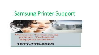 Samsung Printer Support Phone Number