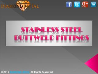 Stainless steel buttweld fittings manufacturers Ahmedabad, Gujarat