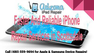 iPhone Screen, Water Damage Repair in Scottsdale