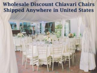 Wholesale Discount Chiavari Chairs Shipped anywhere in United States