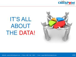Marketing Database Solutions – Business Data Integration Tool | Info CheckPoint