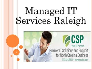 IT Services Raleigh NC