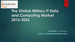 Global Military IT Data and Computing