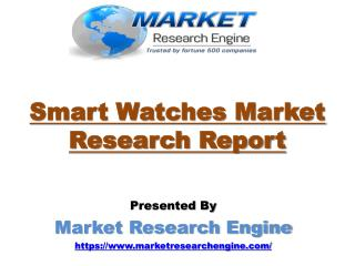 North America will lead the Global Smart Watches Market - by Market Research Engine