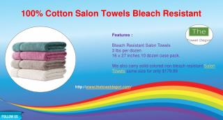 100% Cotton Salon Towels Wholesale