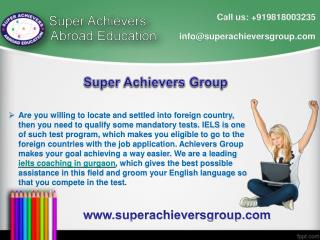 Best IELTS Coaching classes in Gurgaon