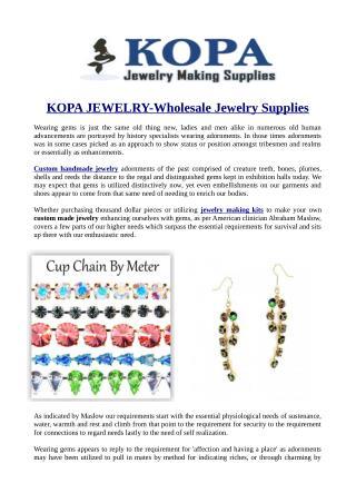 KOPA JEWELRY-Wholesale Jewelry Supplies