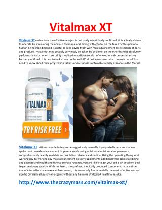 http://www.thecrazymass.com/vitalmax-xt/
