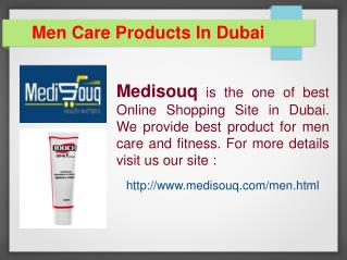 Men Care Products in Dubai