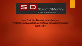 New York Motor Vehicle Accident Lawyers