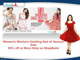 Buy women western short and long dresses