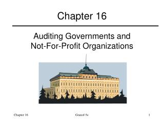 Auditing Governments and Not-For-Profit Organizations