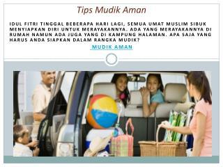 5 Tips Mudik Aman