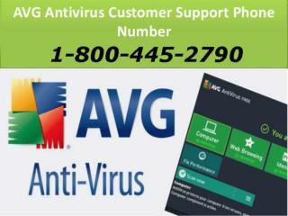 avg antivirus toll free number 1-800-445-2790