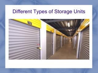 This is  your Storage units ideas
