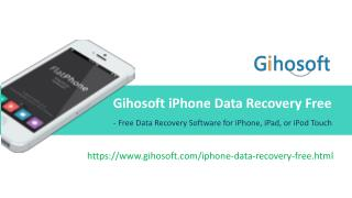 How to Recover Lost Data from iPhone/iPad/iPod Touch Free