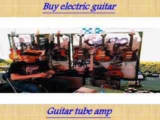 Boutique guitar amps