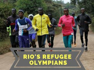 Rio's refugee Olympians