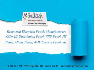 Power Control Panel Manufacturers, India|Exporters