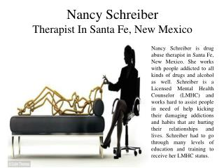 Nancy Schreiber - Therapist in Santa Fe, New Mexico