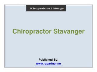 Chiropractor Stavanger