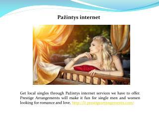 Pažintys internete