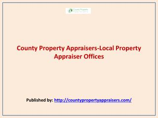 Local Property Appraiser Offices