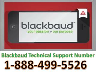 1-888-499-5526 Blackbaud Customer Helpline Number