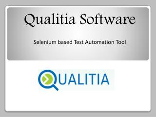 Qualitia Software - robust test automation frameworkse