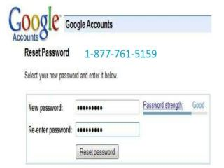Gmail Problems via Reset Gmail Password  1-877-761-5159 toll free number call us