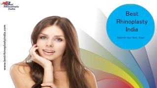 Best Rhinoplasty Surgery india, Nose Reshaping Surgery Delhi