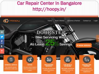 Car Repair Center In Bangalore