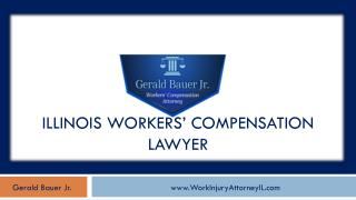 Work Injury Attorney Serving Chicago Area