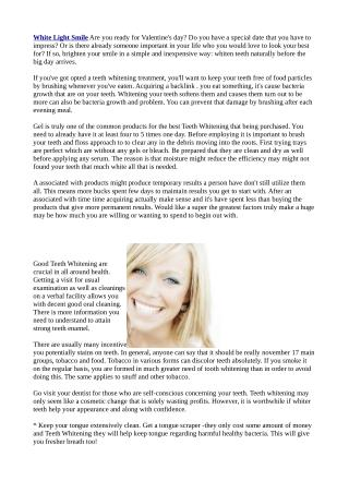 http://wellnesssystemreport.co.uk/white-light-smile-reviews/