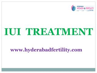 IUI Treatment Center in Hyderabad