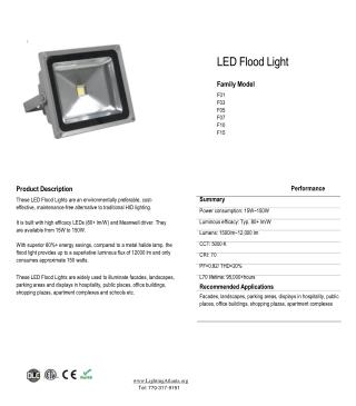 150w LED Flood Light Fixtures
